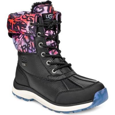 UGG Adirondack Iii Graffiti Waterproof Boot, Black