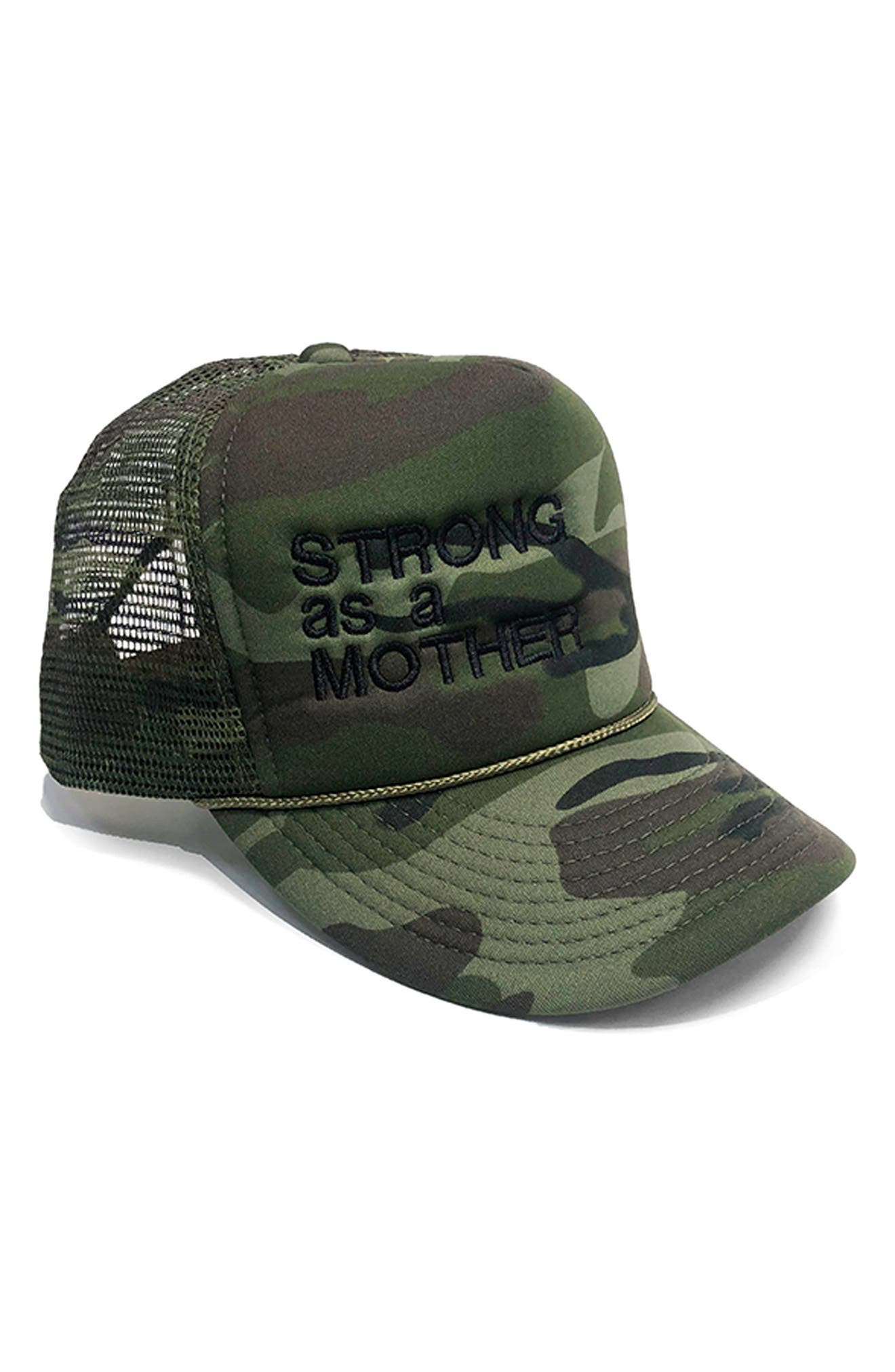 Strong As A Mother Trucker Hat