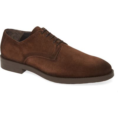 To Boot New York Atkins Plain Toe Derby, Brown
