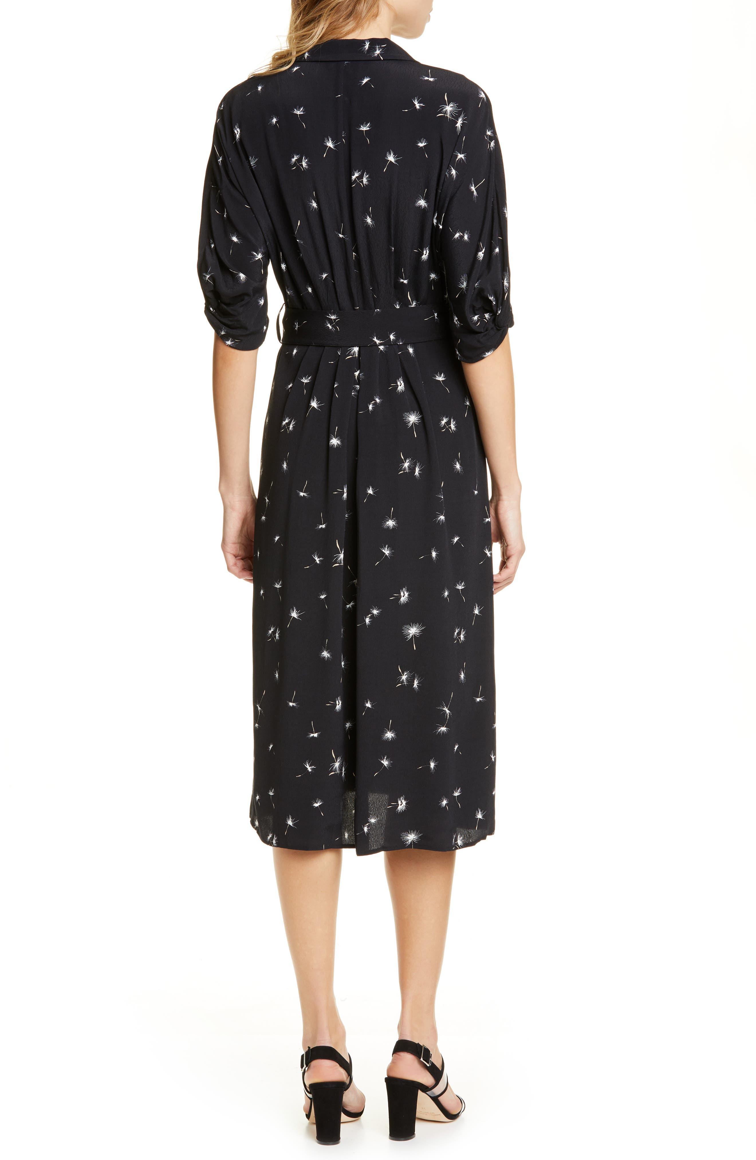 ,                             Anitone Faux Wrap Dress,                             Alternate thumbnail 2, color,                             TRUE BLACK MULTI