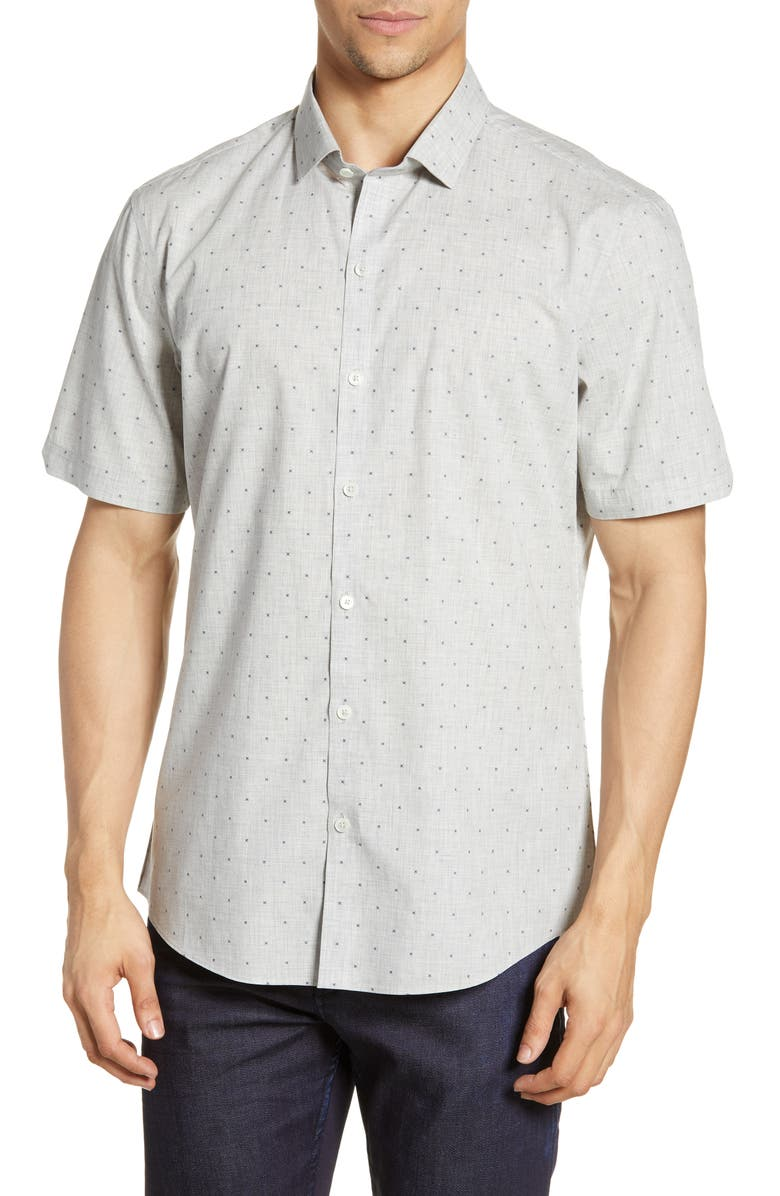 ZACHARY PRELL Sandoval Regular Fit Shirt, Main, color, 020