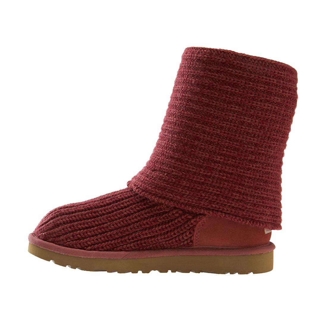 ,                             'Cardy' Classic Knit Boot,                             Alternate thumbnail 52, color,                             605