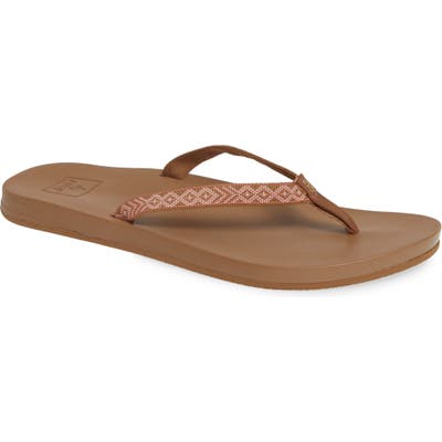 Reef Cushion Bounce Flip Flop, Brown