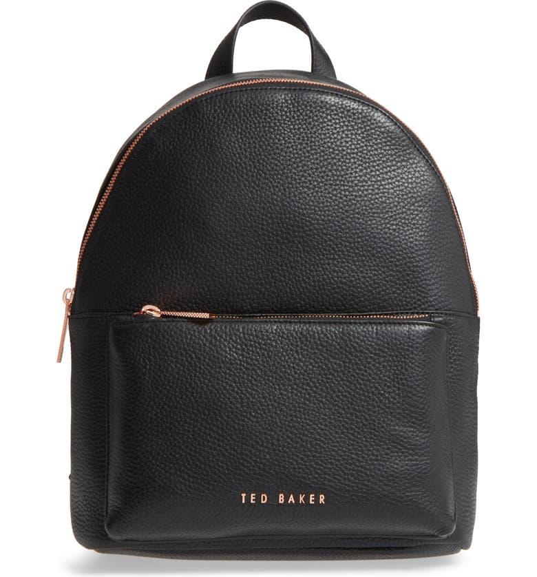 04312e14d Ted Baker London Pearen Leather Backpack | Nordstrom