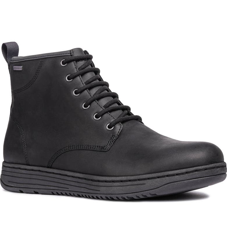 GEOX Abroad ABX 2 Tall Lace-Up Boot, Main, color, 001