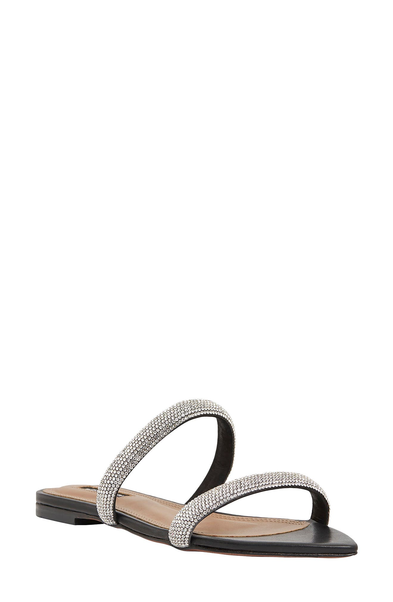 April Embellished Slide Sandal