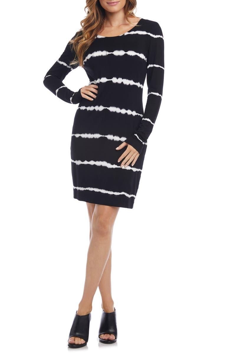 KAREN KANE Tie Dye Jersey Dress, Main, color, TIE DYE