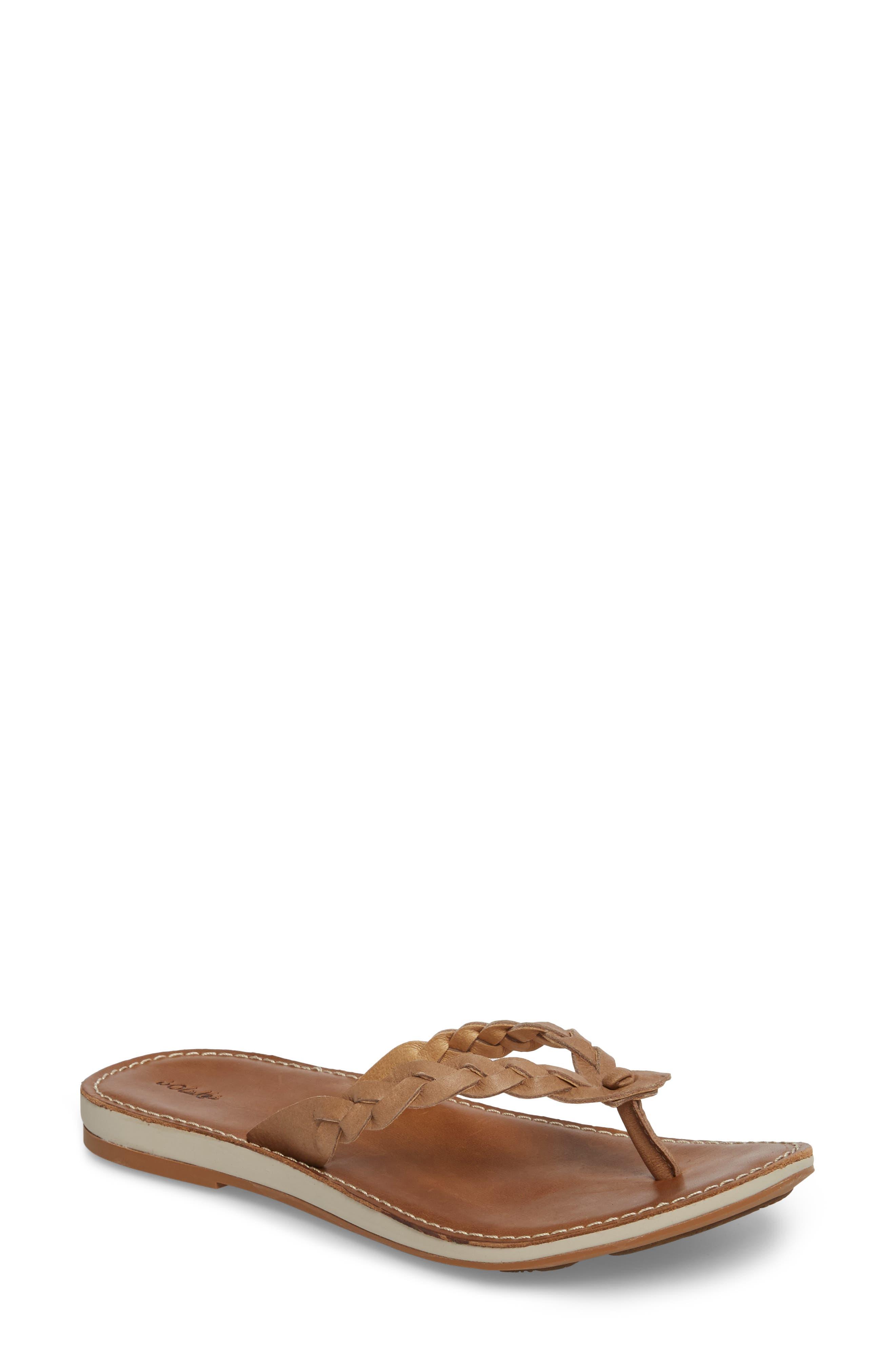 Olukai Kahiko Flip-Flop, Brown