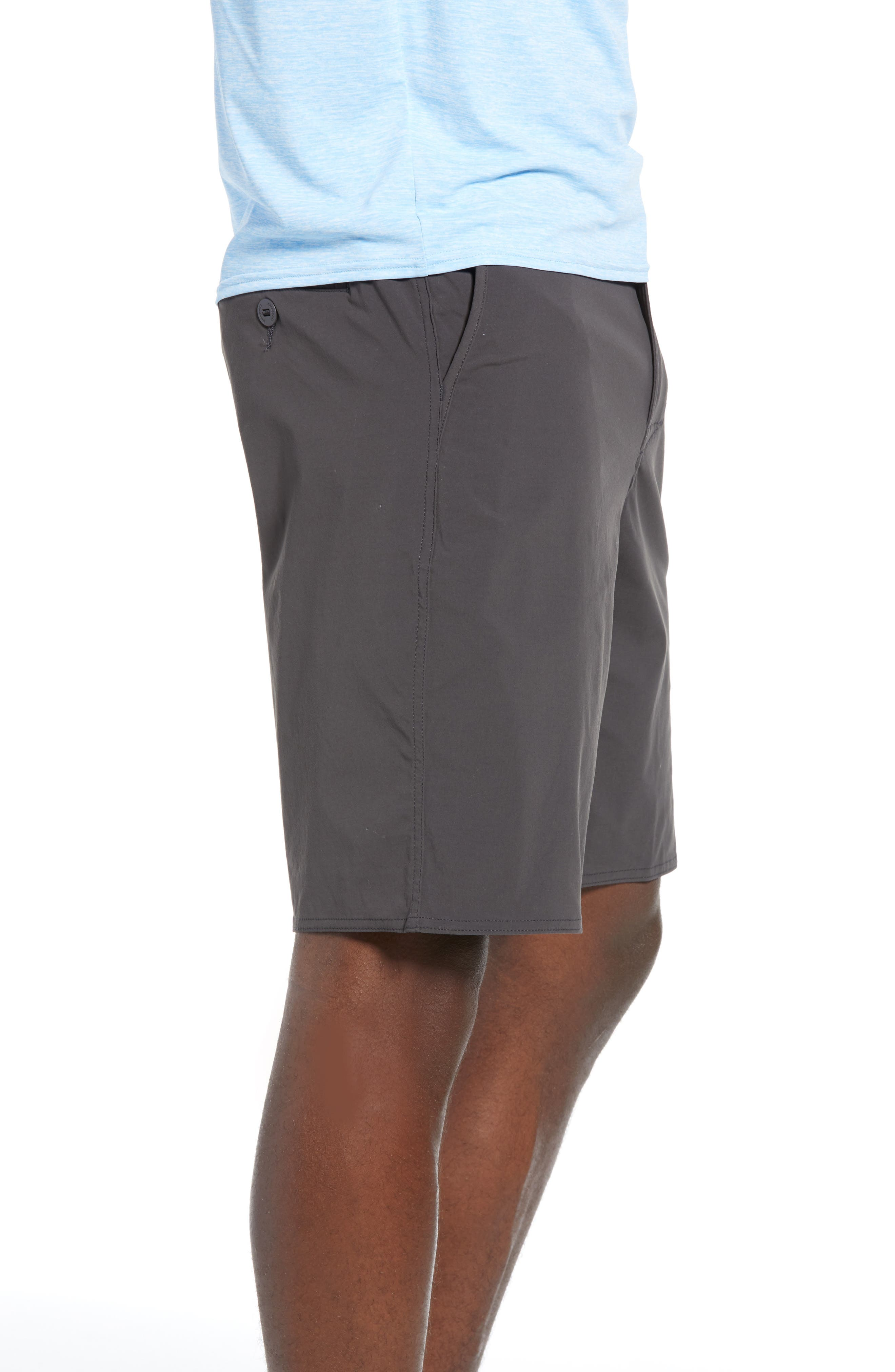 ,                             Stretch Wavefarer<sup>®</sup> Walking Shorts,                             Alternate thumbnail 4, color,                             INK BLACK