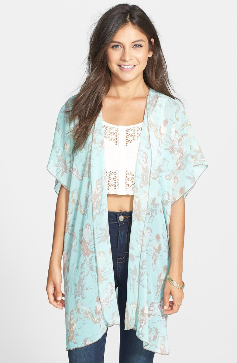 BAND OF GYPSIES Long Kimono, Main, color, 400