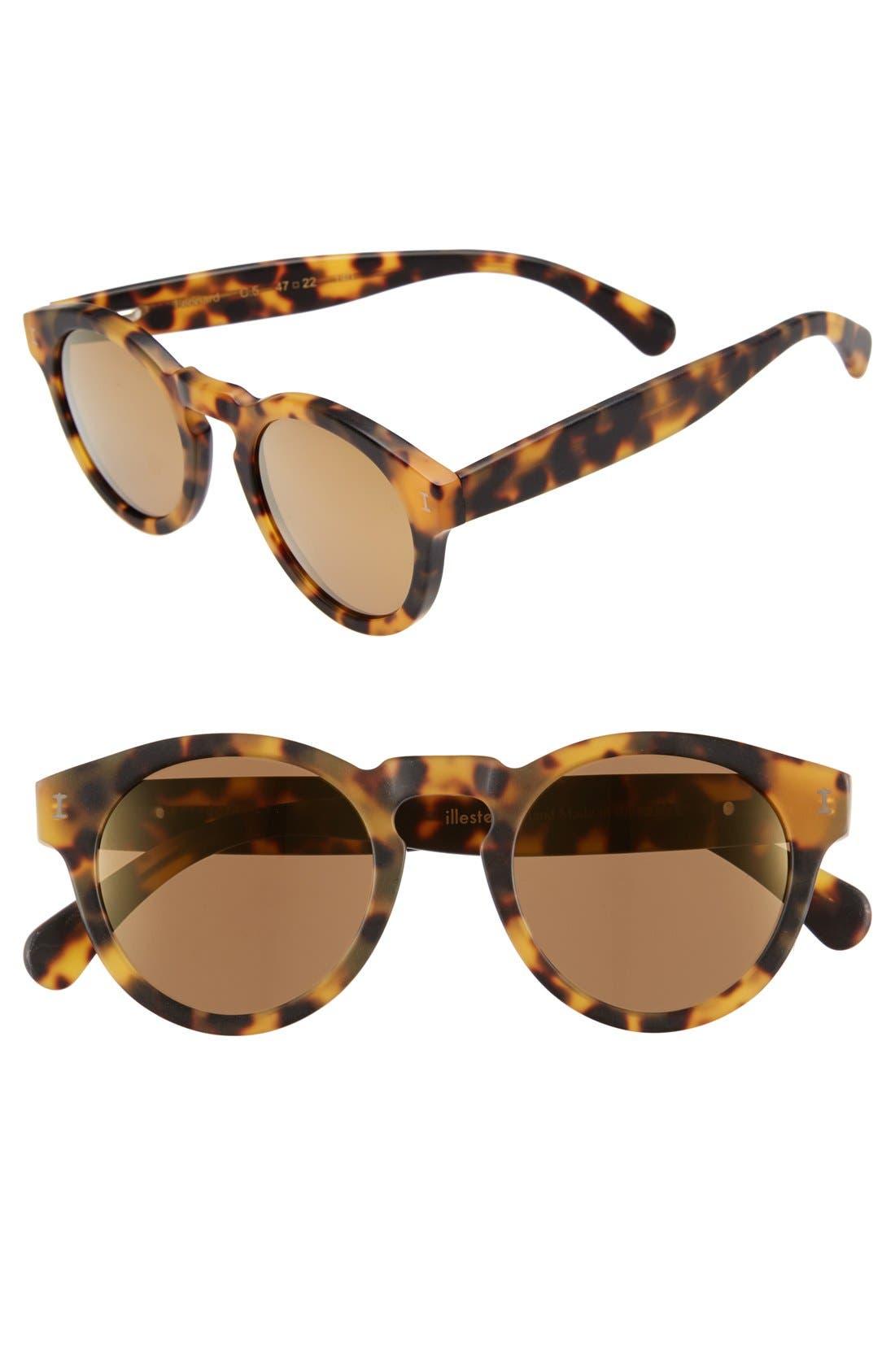 ,                             'Leonard' 47mm Sunglasses,                             Main thumbnail 117, color,                             243