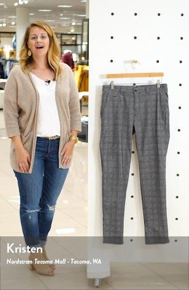 Woolook 2.0 Glen Plaid Flat Front Pants, sales video thumbnail