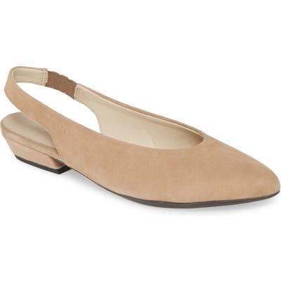 The Flexx Prato Slingback Pump- Beige