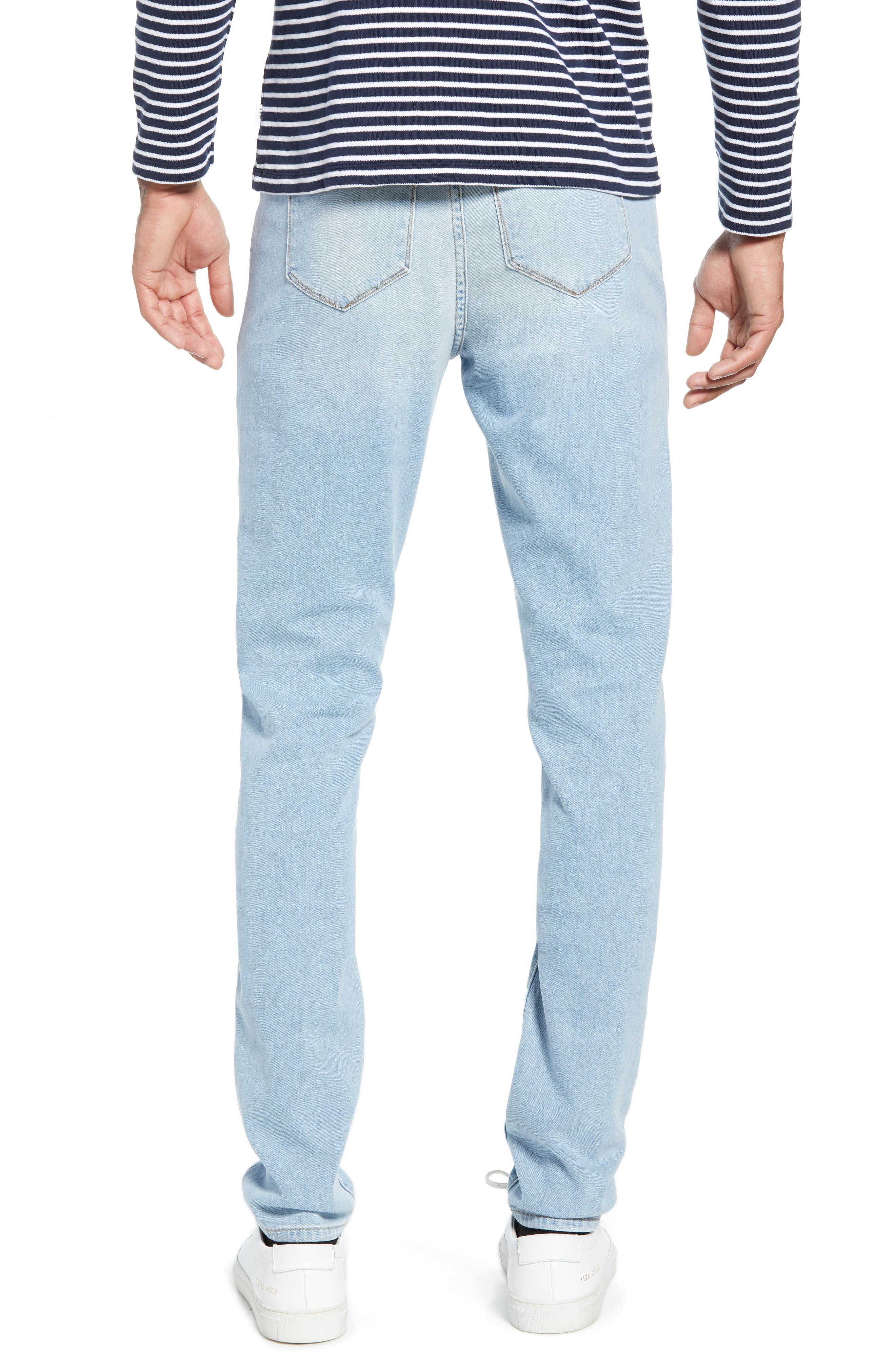 ,                             Greyson Skinny Fit Jeans,                             Alternate thumbnail 2, color,                             MYKONOS
