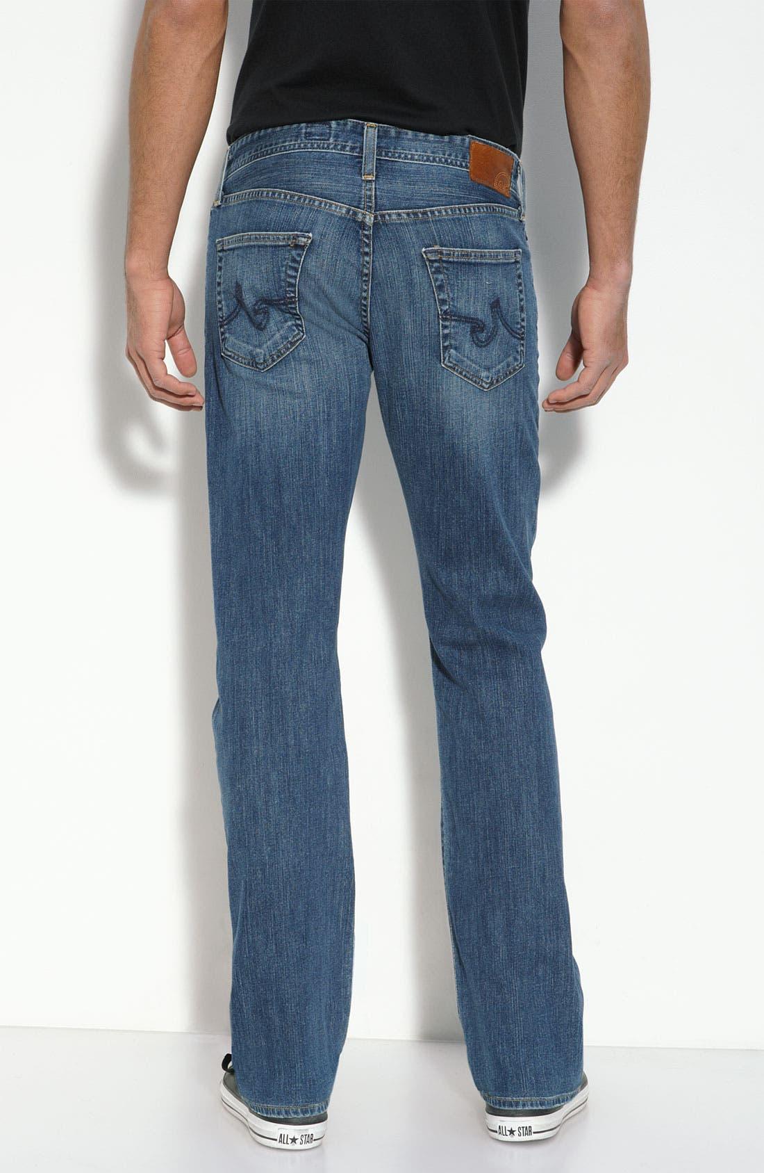,                             'Protégé' Straight Leg Jeans,                             Alternate thumbnail 24, color,                             421