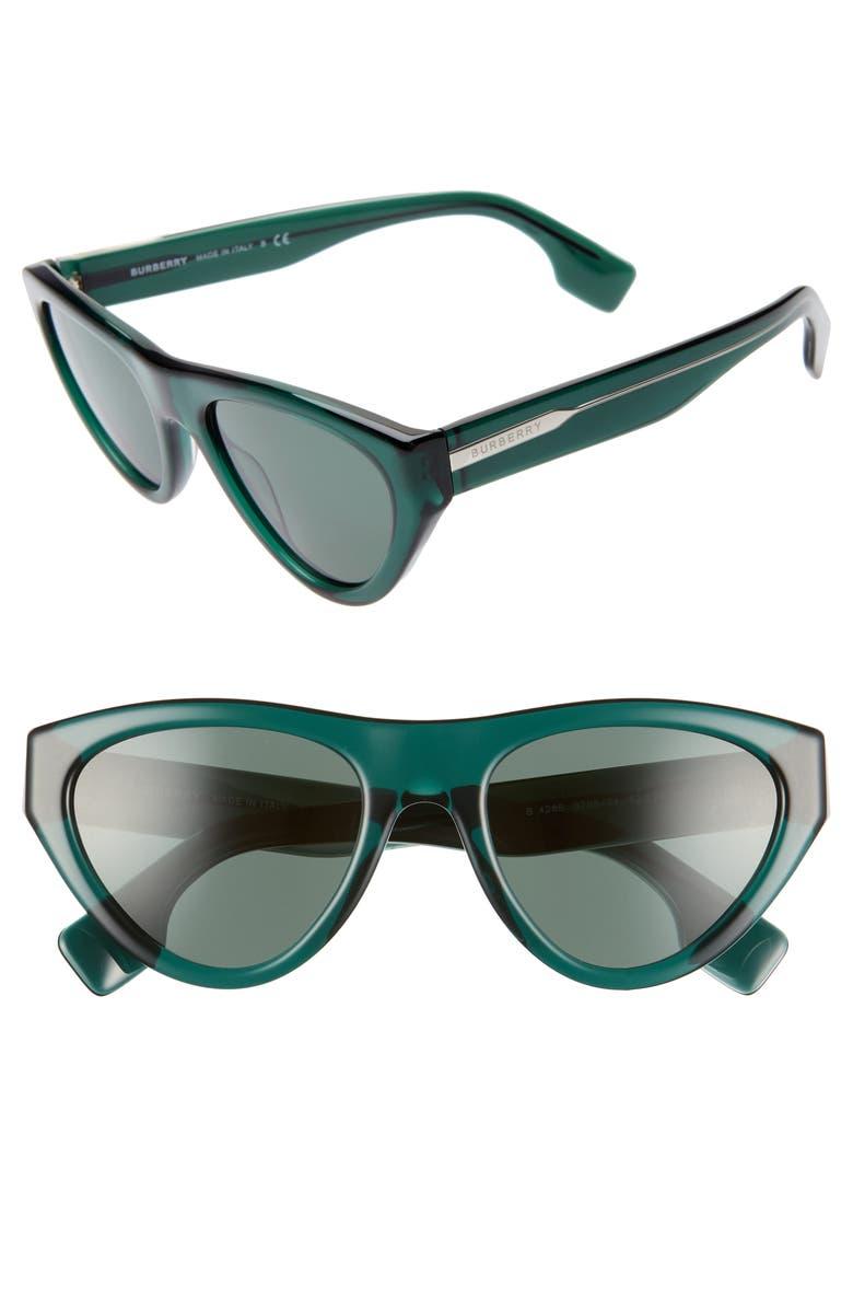 Burberry 52mm Cat Eye Sunglasses