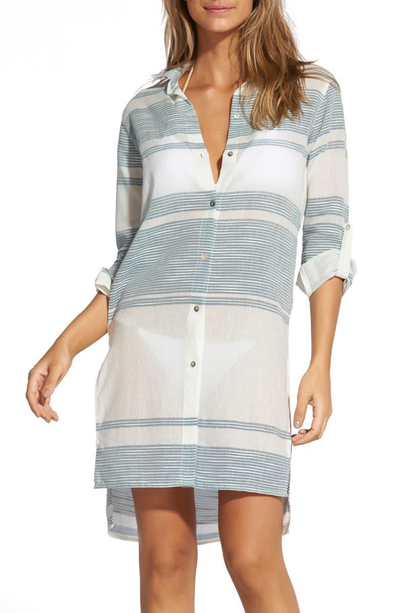 Ada Cover Up Shirtdress by Vix Swimwear