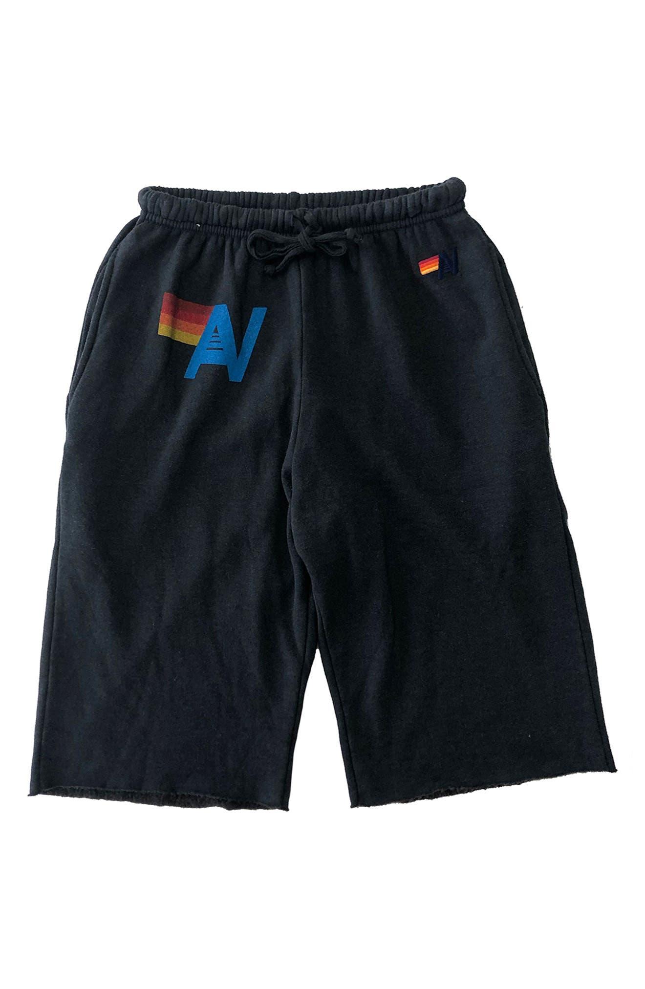 Cotton Blend Sweat Shorts