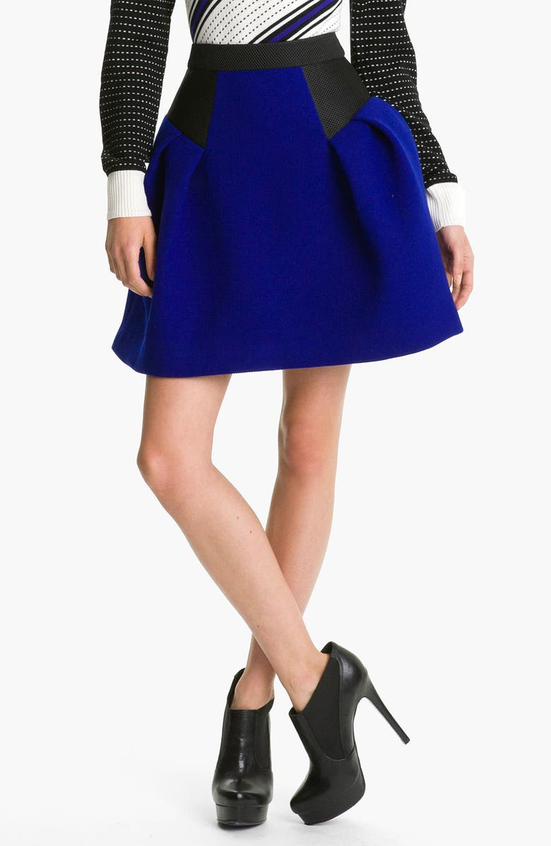 MILLY 'Raquelle' Flare Skirt, Main, color, 400