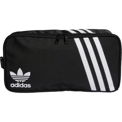 Adidas 3-Stripe Shoe Bag - Black