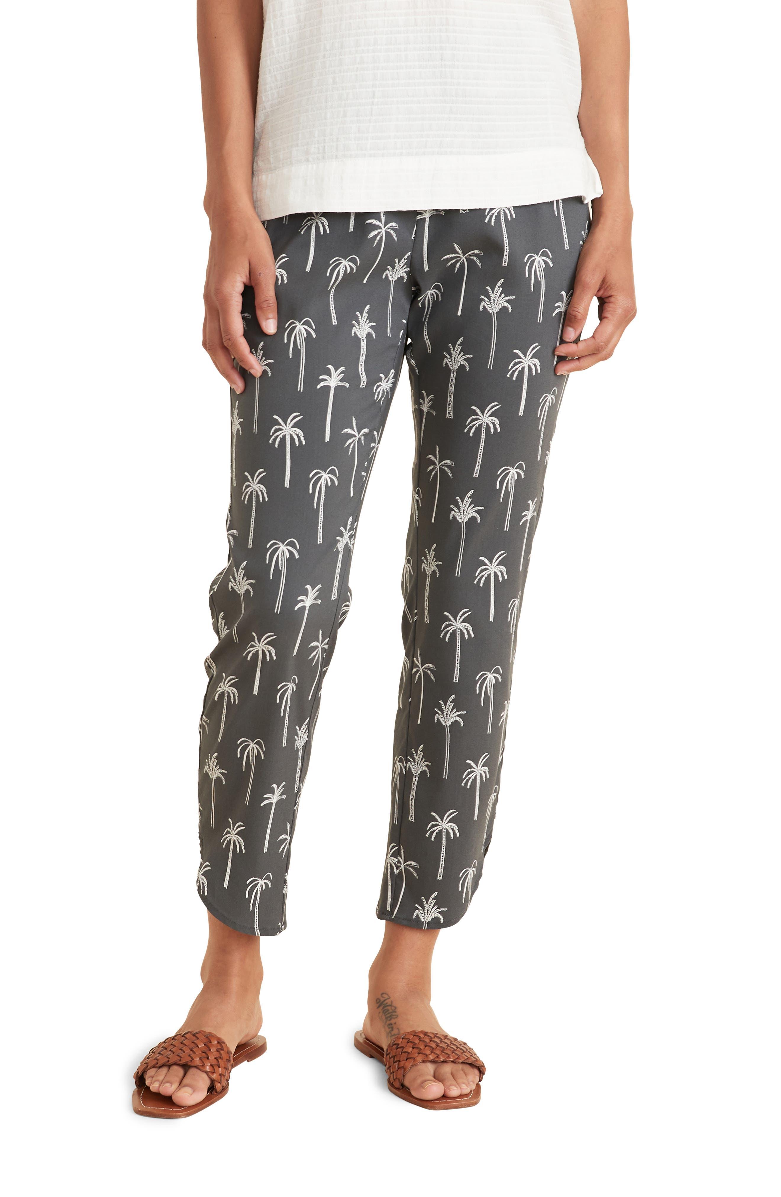 Allison Palm Print Pants