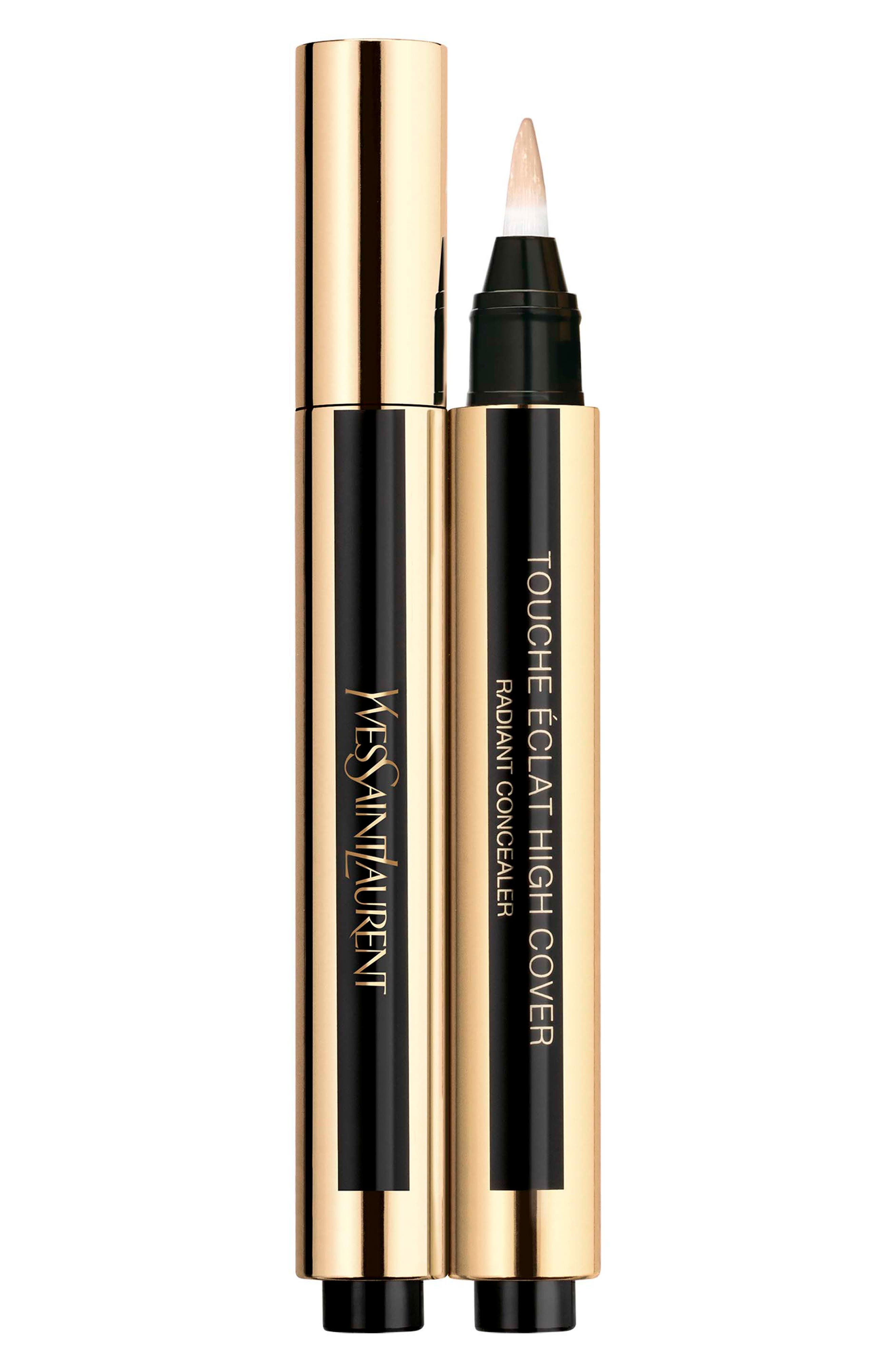 ,                             Touche Eclat High Cover Radiant Undereye Concealer Pen,                             Main thumbnail 1, color,                             0.5 VANILLA