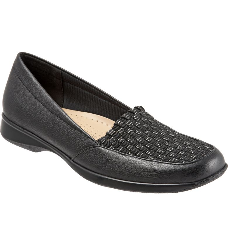 TROTTERS Jenkins Loafer Flat, Main, color, 001