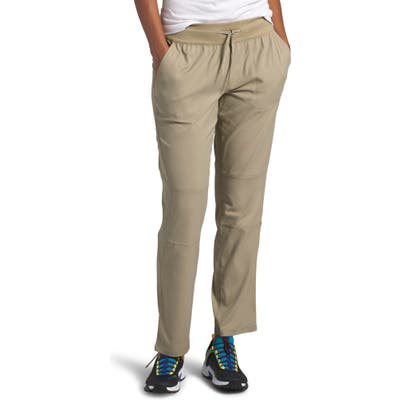 The North Face Aphrodite 2.0 Motion Water Repellent Pants, Beige