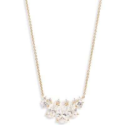 Nadri First Kiss Pendant Slider Necklace