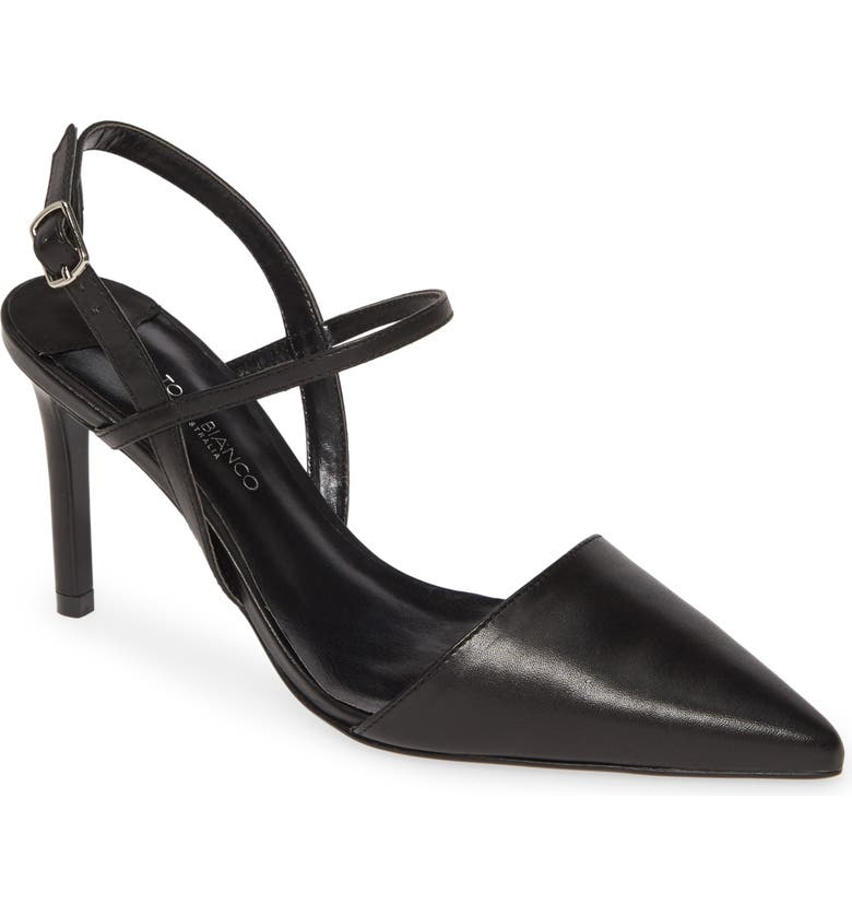TONY BIANCO Evar Pump, Main, color, BLACK COMO LEATHER