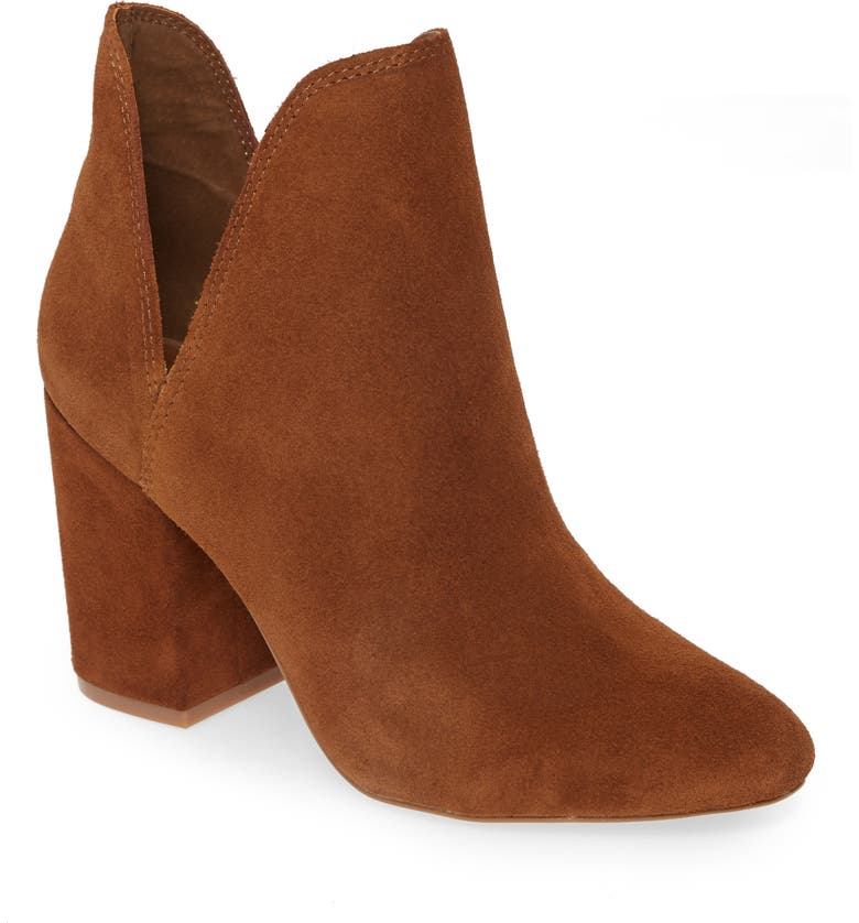 STEVE MADDEN Rookie Bootie, Main, color, CHESTNUT SUEDE