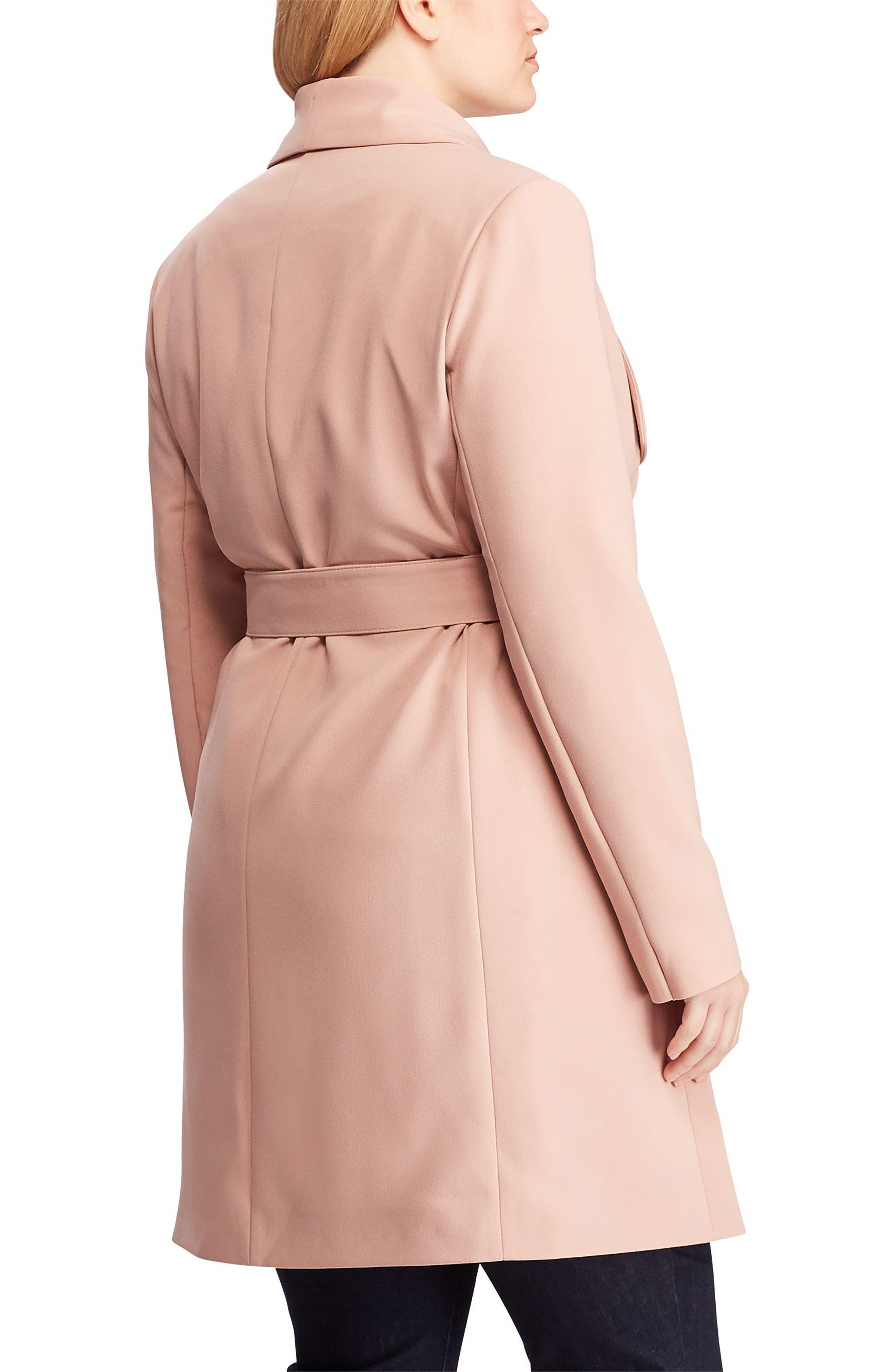 ,                             Belted Drape Front Coat,                             Alternate thumbnail 5, color,                             654