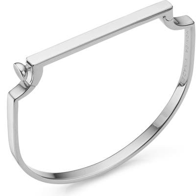 Monica Vinader Engravable Signature Thin Bangle