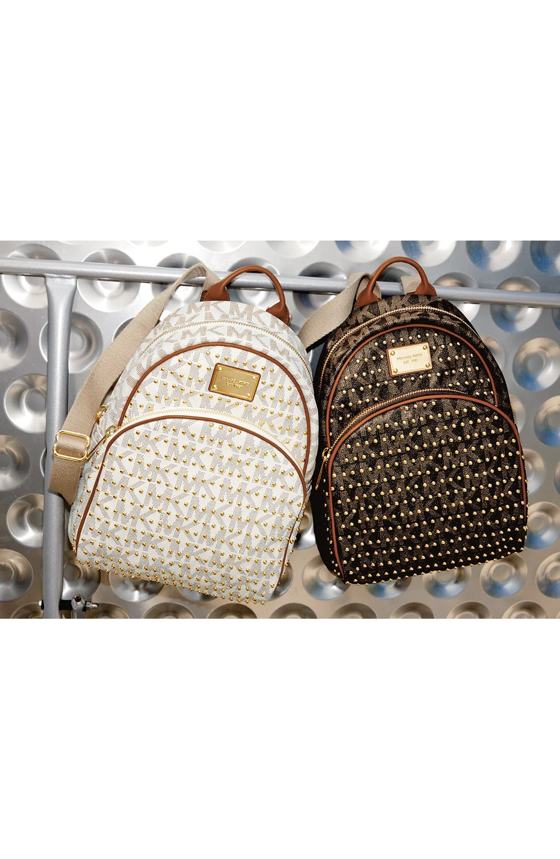 ,                             'Small' Studded Backpack,                             Alternate thumbnail 5, color,                             150