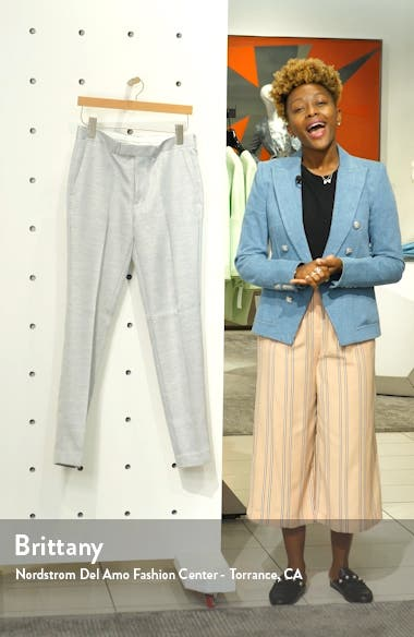 Clay Skinny Suit Dress Pants, sales video thumbnail