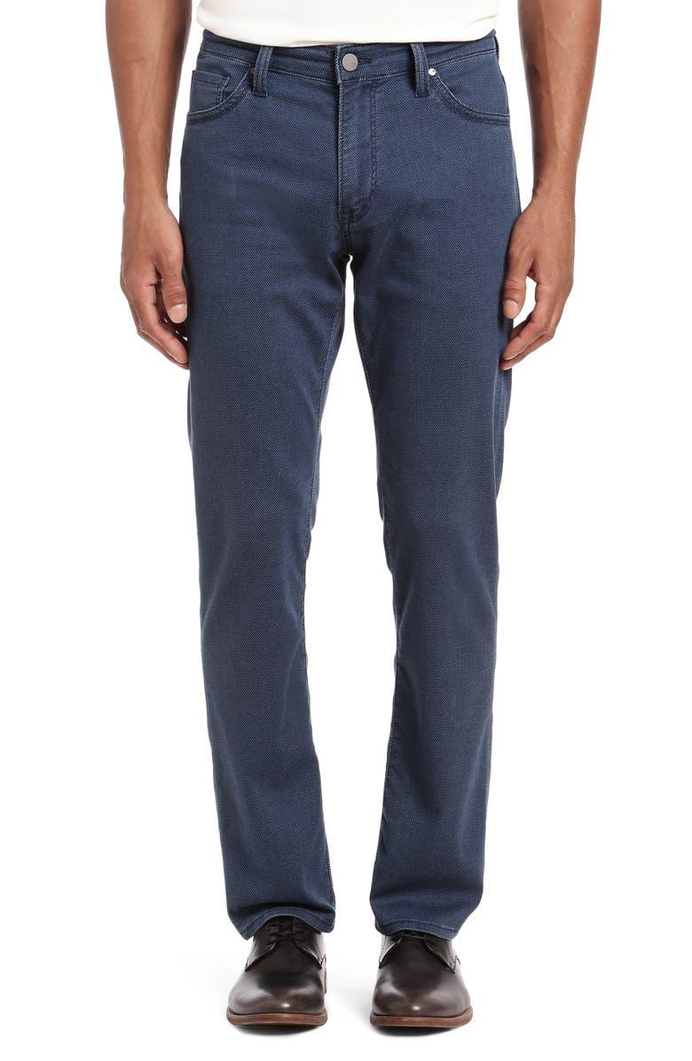 34 HERITAGE Courage Straight Leg Jeans, Main, color, MID DIAMOND DENIM
