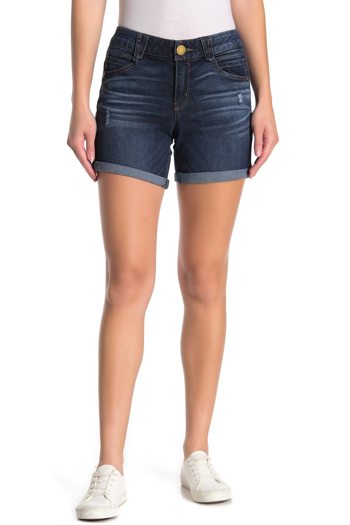 Image of Democracy Ab Solution Uncuffed Shorts