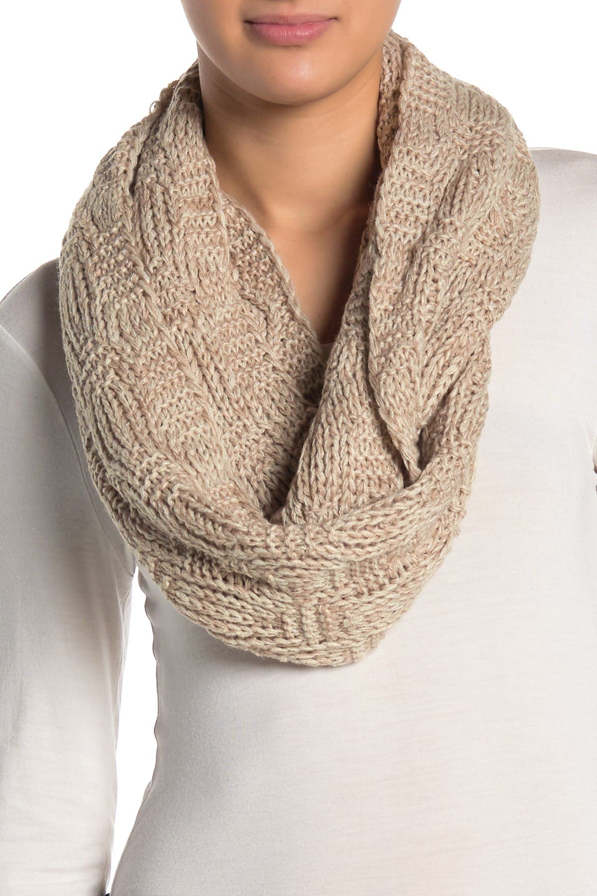 Image of Melrose and Market Cable Knit Infinity Scarf