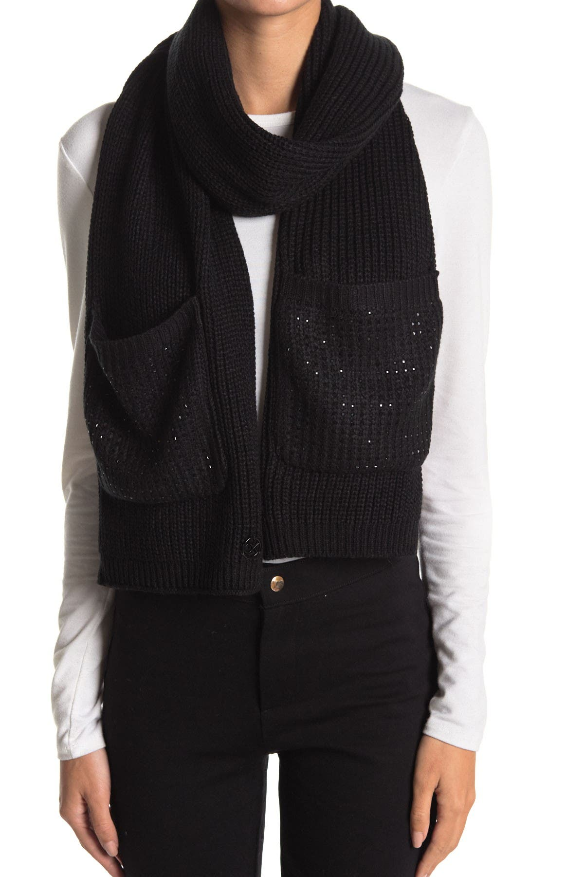 Image of Calvin Klein Square Studded Scarf