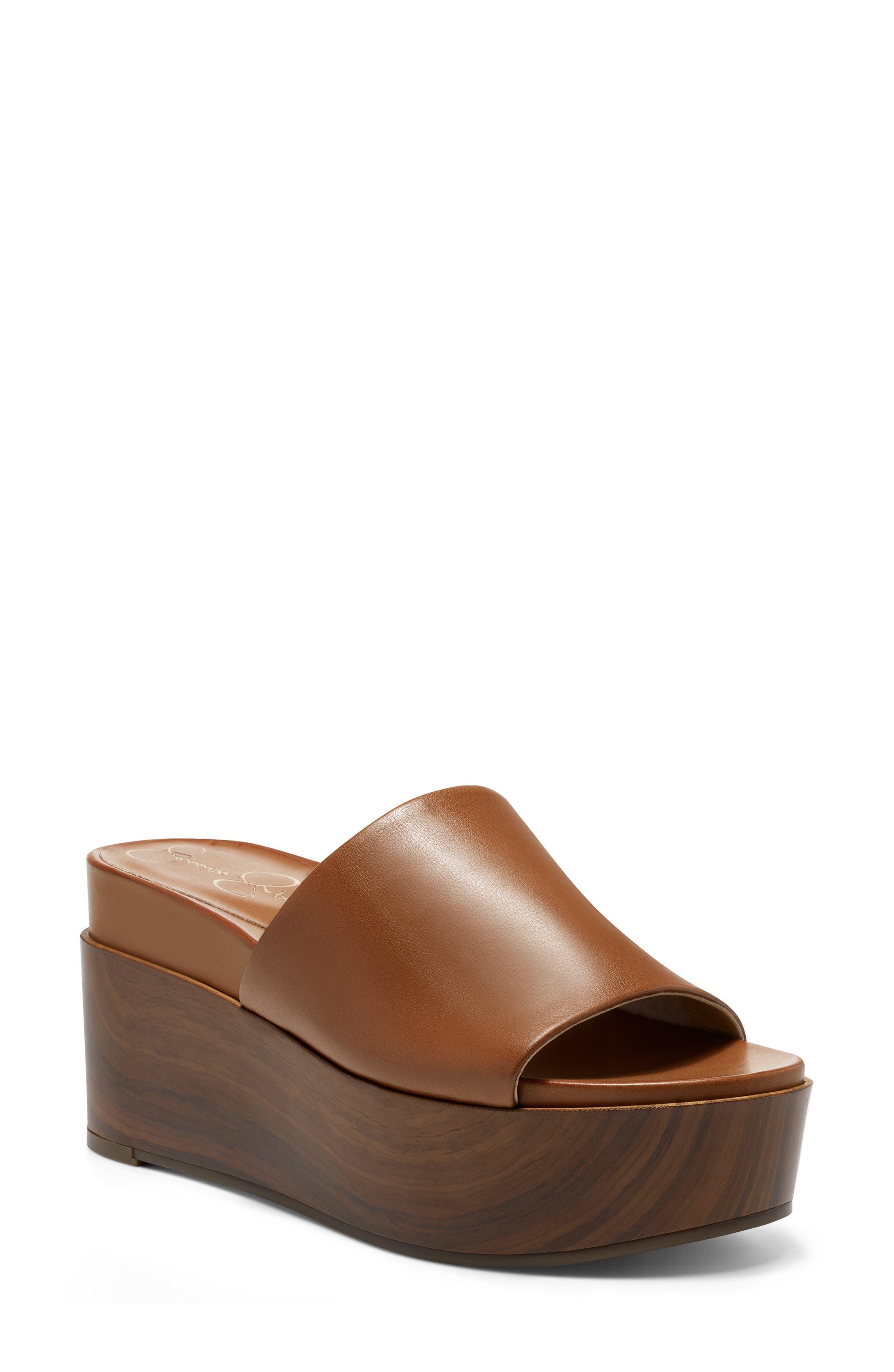 Crissie Platform Slide Sandal