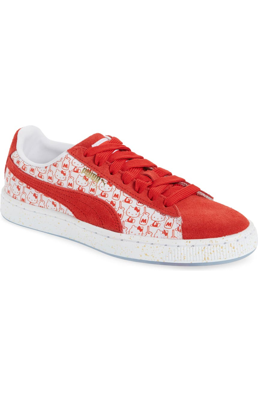 Puma Suede Classic x Hello Kitty Kids | WHAT A PETIT