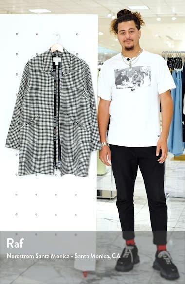 Houndstooth Check Double Weave Jacket, sales video thumbnail