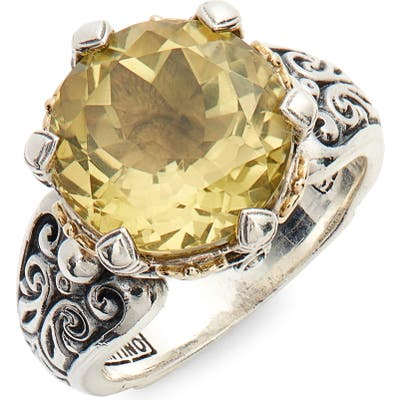 Konstantino Hermione Two-Tone Stone Ring