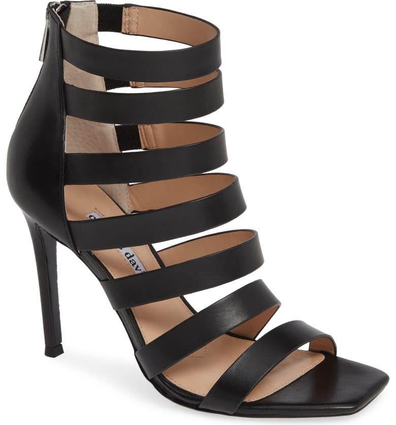 CHARLES DAVID Velma Sandal, Main, color, BLACK