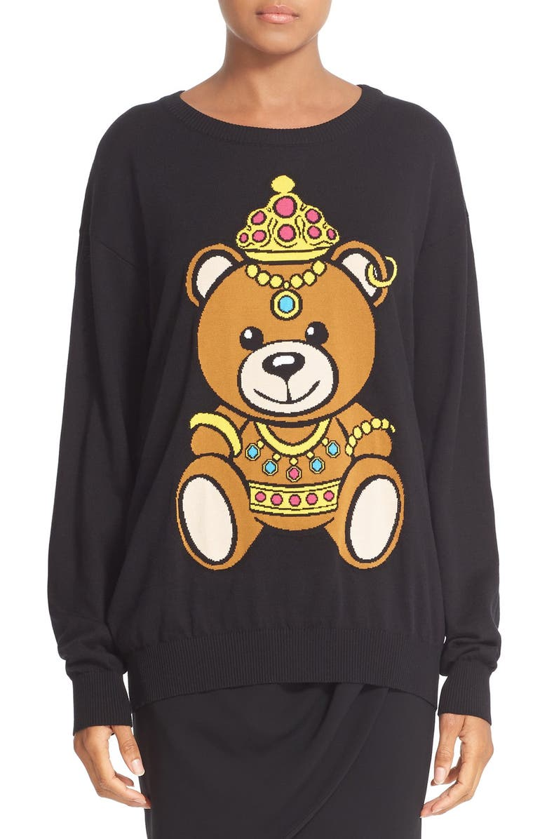 2b86dc9258ad8 Moschino Teddy Bear Sweater | Nordstrom