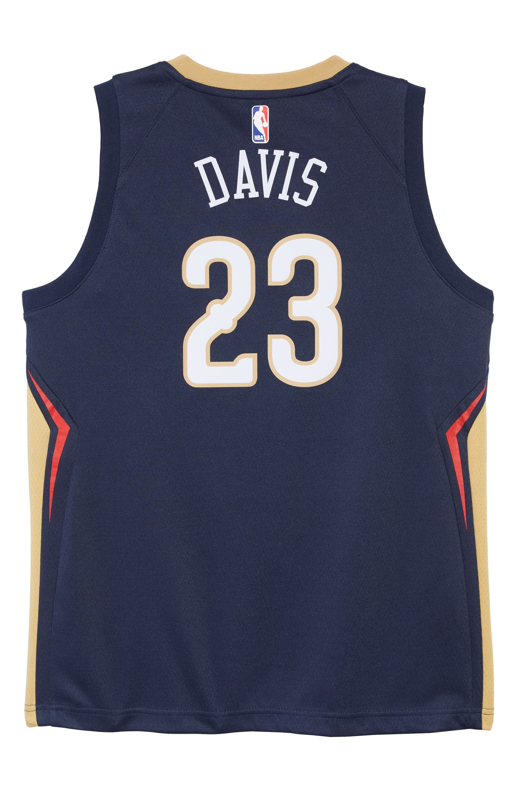 best sneakers 552e8 233b5 New Orleans Pelicans Anthony Davis Basketball Jersey