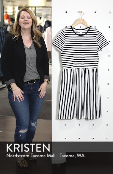 Fit & Flare T-Shirt Dress, sales video thumbnail