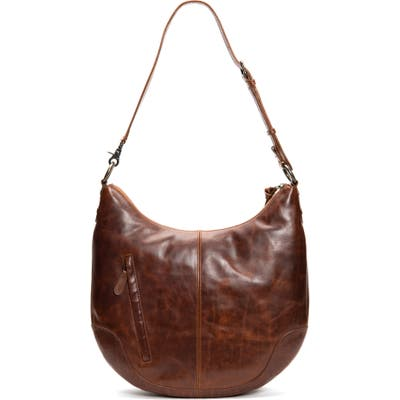 Frye Melissa Leather Hobo - Brown