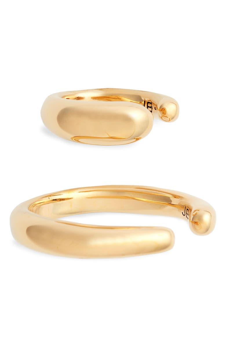 JENNY BIRD Sila Ear Cuffs, Main, color, GOLD