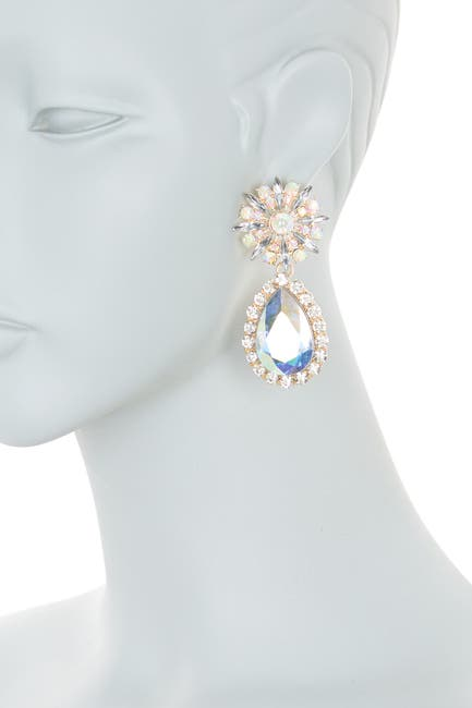 Image of 8 Other Reasons A-Glass Stone Accented Drop Earrings